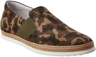 Tod's Gommino Suede Sneaker