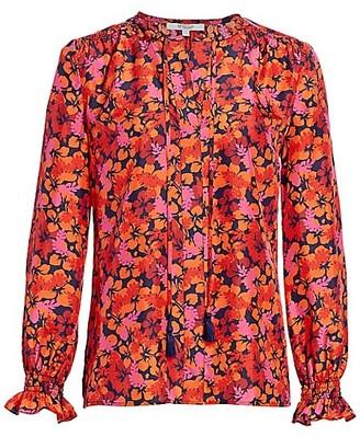 Derek Lam 10 Crosby Aria Floral Blouse