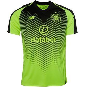 New Balance CFC Celtic Third Jersey Flu Yellow/Black