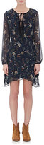 Barneys New York WOMEN'S FLORAL CHIFFON DRESS