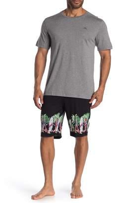 Tommy Bahama Surf Holiday T-Shirt & Shorts Pajama Set