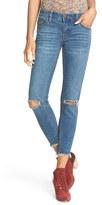 Free People Women's Ripped Crop Skinny Jeans