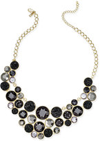 INC International Concepts Silver-Tone Monochromatic Stone Statement Necklace, Only at Macy's