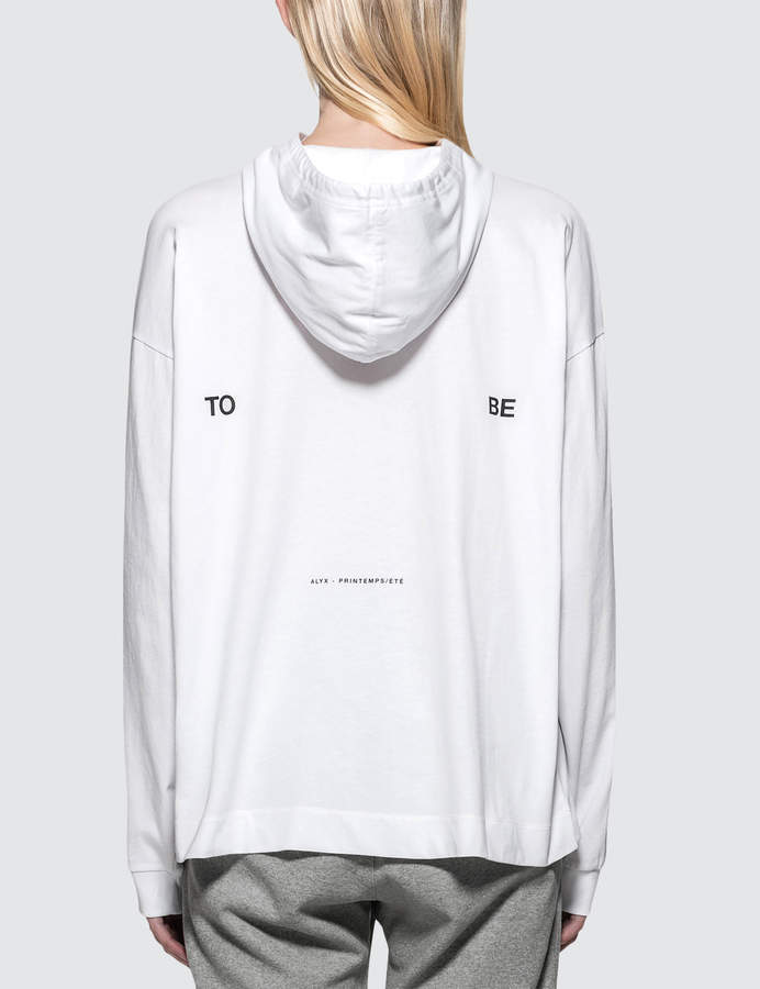 Alyx To Be Collection Hooded T-Shirt