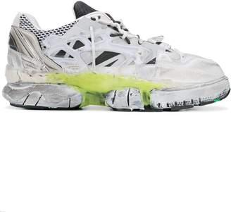Maison Margiela fusion sneakers white/yellow