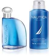 Nautica Blue 2pc set - 1.7oz Eau de Toilette + 4.0oz DBS