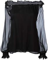 P.A.R.O.S.H. off shoulder blouse