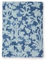 D'Ascoli Haveli 224cm X 315cm Floral Linen-blend Tablecloth - Blue Multi