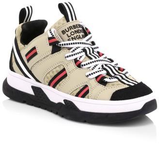 Burberry Kid's Mini RS5 Low-Top Sneakers