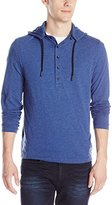 Kenneth Cole New York Kenneth Cole Men's Long Sleeve Zip Off Hoodie