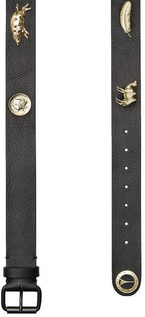 Y/Project Embellished Leather Belt