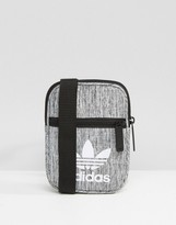 Adidas Originals Flight Bag In Grey Bk7109
