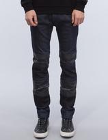 Diesel Black Gold Patch Jeans