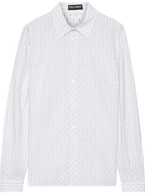 Dolce & Gabbana Fil Coupe Cotton Shirt