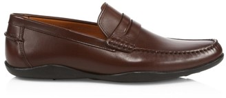 Harry's of London Basel 3D Leather Penny Loafers