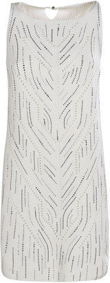 Ermanno Scervino Embellished Sleeveless Dress