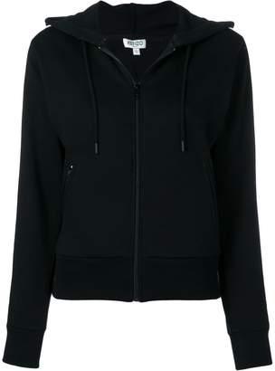 Kenzo zipped hooded jacket
