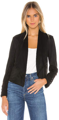 BB Dakota JACK by Flip The Stitch Faux Suede Jacket