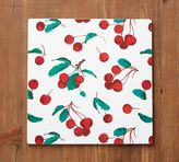 Pottery Barn Painted Cherry Corkmat, Set of 4