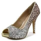 Thalia Sodi Cereza Peep-toe Synthetic Heels.