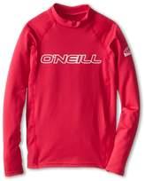 O'Neill Kids - Basic Skins L/S Crew Kid's T Shirt