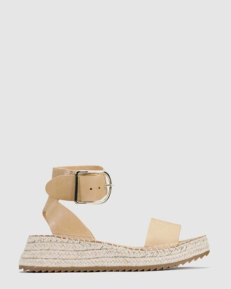 EOS Women's Brown Sandals - Larah - Size One Size, 38 at The Iconic