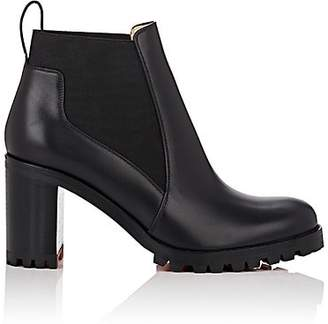 Christian Louboutin Women's Marcharoche Leather Ankle Boots - Black