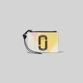 Marc Jacobs The Snapshot Spray Paint Top Zip Multi Wallet