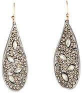 Alexis Bittar Miss Havisham Crystal Encrusted Teardrop Earrings