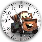 "Rusch Disney Cars Mater Wall Clock 10"" Will Be Nice Gift and Room Wall Decor W130"