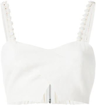 Olympiah Magnolia cropped top