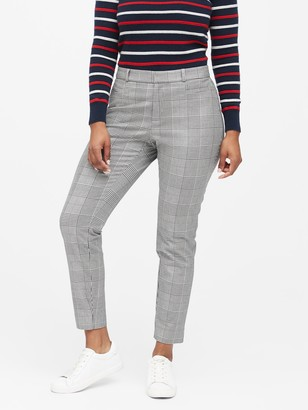 Banana Republic Curvy Sloan Skinny-Fit Washable Pant