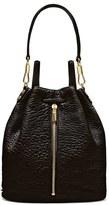 Elizabeth and James 'Cynnie' Leather Sling Backpack - Black