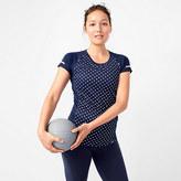 New Balance for J.Crew polka-dot cooling T-shirt