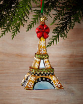 Mackenzie Childs MacKenzie-Childs Eiffel Tower Christmas Ornament