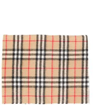 BURBERRY KIDS Sciarpe check scarf