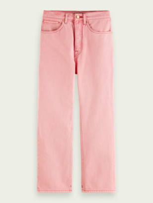 Scotch & Soda Extra boyfriend jeans Magic Pink | Women