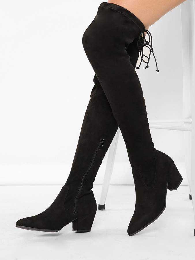 16441dbe08 Thigh High Heel Boots - ShopStyle