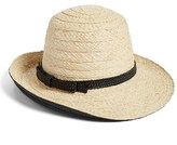 Kate Spade Women's Asymmetrical Sun Hat - Black