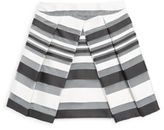 Milly Minis Girl's Stripe Pleated Skirt