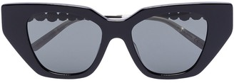 Gucci Cat-Eye Crystal-Embellished Sunglasses