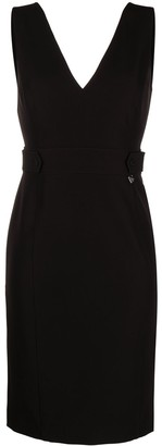 Twin-Set Fitted Knee-Length Dress