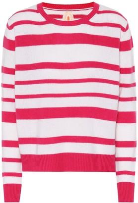 Jardin Des Orangers Striped cashmere sweater