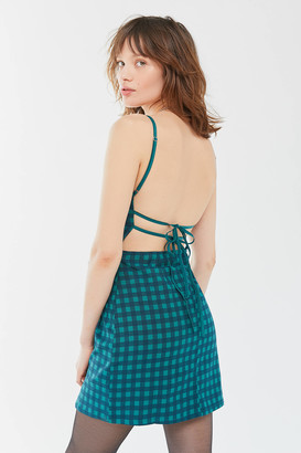 Urban Outfitters Lani Strappy Back Bodycon Mini Dress