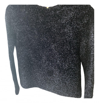 Louis Vuitton Anthracite Wool Knitwear