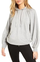 Treasure & Bond Women's Pleated Sleeve Hoodie