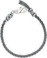 Emanuele Bicocchi twisted thin bracelet