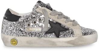 Golden Goose Baby's, Little Girl's & Girl's Glitter Leather Superstar Sneakers