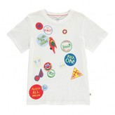 Stella McCartney Sale - Arlo Patch T-Shirt