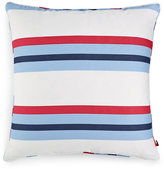 "Tommy Hilfiger Edgartown Stripe 20"" Square Decorative Pillow"
